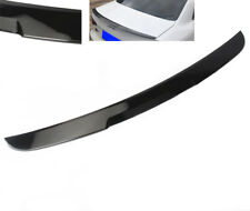 Rear Tailgate Spoiler Gloss Black For AUDI A4 S4 B9 8W 17-2019 Sedan Replacement