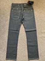BNWT Armani Jeans J08 Slim Fit Mens Grey Denim Jeans | 32W 34L