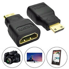 1pc Tiny HDMI To Micro HDMI Media HD TV Cable Adapter Converter For Cell Phone