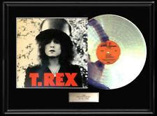 T.REX THE SLIDER  WHITE GOLD SILVER PLATINUM TONE RECORD LP NON RIAA RARE TREX