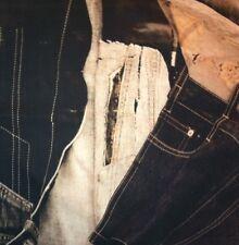 LELIEVRE Jean Paul GAULTIER On The Road Graphite Denim Blue Jeans Remnant New