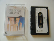 ULTRAVOX QUARTET CASSETTE TAPE 1982 WHITE PAPER LABEL CHRYSALIS UK