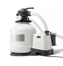 Intex 3000 GPH Above Ground Pool Sand Filter Pump with Automatic Timer
