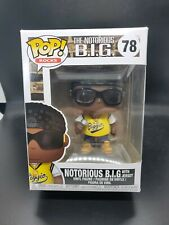 Funko Pop! Rocks Notorious B.I.G with Jersey #78