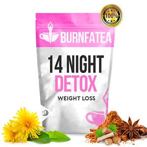 BURNFATEA 14 NIGHT DETOX TEA, WEIGHT LOSS TEA, SLIMMING TEA, DIET CLEANSE TEA