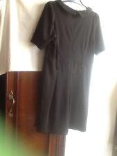 Vestido De Punto Negro Talla44