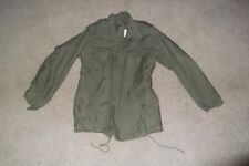 Military Fatigue Field Jacket Army XSmall Reg M65 Vintage Vietnam Reenactment 99