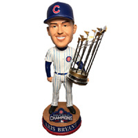Chicago CUBS Kris Bryant 2016 World Series Champions Bobblehead BRAND NEW!
