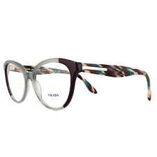 Prada Glasses Frames PR05UV VYN1O1 Plum Grey 54mm Womens
