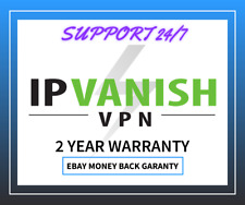 IPVANISH VPN -premium ACCOUNT - fast  DELIVERY - 2 year warranty