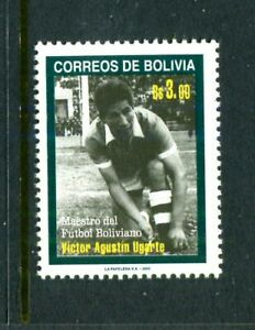 Bolivia 1113, MNH. Victor Augustin Ugarte, Soccer Player 2000. x39704