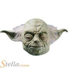 Yoda Star Wars Adult Rubber Overhead Mask Fancy Dress Accessory