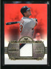 DAVID FREESE 2013 TOPPS TRIBUTE TO THE STARS 3-CLR GAME USED PATCH #09/10 AB8856
