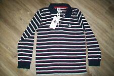 Petit Bateau-boys striped cotton polo shirt.7/8y(126 cm).BNWT.RRP 26 £.