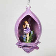 Bradford Exchange Edition 2000 Secret Garden Violet Mirage Heirloom Porcelain
