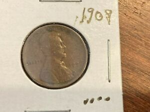 1909 Lincoln Cent, circulated