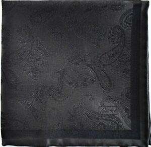 🆕️ NEW BRIONI PAISLEY 100% SILK JACQUARD Pocket Square Pochette Handkerchief