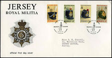 Jersey 1972 Royal Militia FDC First Day Cover #C34985