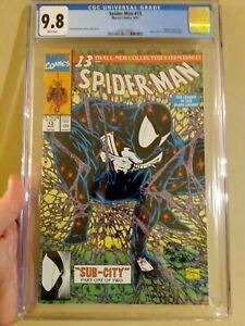 Spider-Man #13 McFarlane Cover CGC 9.8 Spider-Man 1 Homage!!