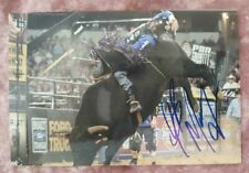 JB Mauney Professional Bull Riding PBR World Champion Autographed Photo #30