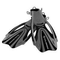 U.S. Divers ProFlex Fx Adult Large (10-13) Snorkel & Diving Water Fins, Black