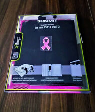 New Black &Pink iFrogz Summit Snap-In folio case for the new iPad & iPad2