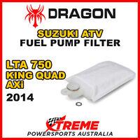 DRAGON LTA750 KING QUAD AXi 2014 ATV SUZUKI FUEL PUMP FILTER