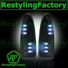 F250+F350+F450+F550 Super Duty 2003-2007 Side Mirror Light WHITE LED SMOKE FORD