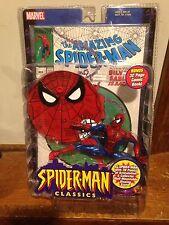 "Spider-Man Classics SPIDEY 6"" Figure MOC Toy-Biz 2000 w/Bonus Comic Book"