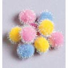 Pompons Darice  Iridescents 12mm x 72 Couleurs Printemps / Pastels