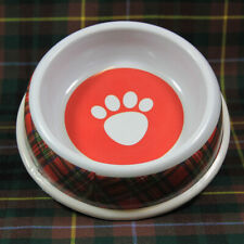 NEW SCOTTISH ROYAL STEWART TARTAN THEMED HIGHLAND FOOD BOWL - FOR CAT OR KITTEN