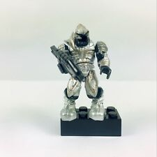 Mega Bloks Halo #96941 Silver Covenant Elite Arbiter mini figure w/ Rifle Stand