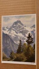 Postcard Unposted Austria, Die Zimba