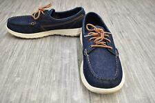 **Skechers GOwalk Lite Shore (15435) Comfort Shoe - Women's Size 9.5- Blue Denim