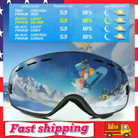 Superior Ski Goggles - OTG Frameless Snow Snowboard Goggles Dual Lens