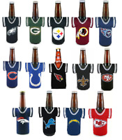 NFL Football Bottle Jersey Cooler - Pick your team! -