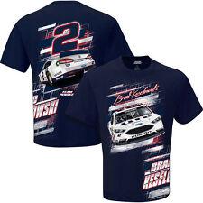Brad Keselowski Miller Lite Penske Slingshot T- Shirt Adult Large # 2 Free Ship