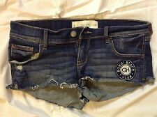 GILLY HICKS WOMENS SHORTS SIZE 2 WAIST 26~SHORTS~DENIM~LOW RISE 6.5~DISTRESSED