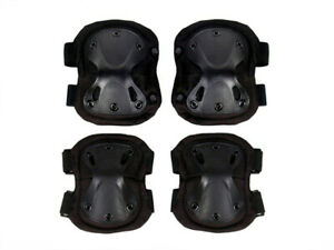 4pcs Elbow and Knee Pads Set for Construction Flooring Tiles Painting Gardening