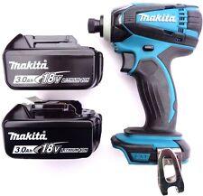 New Makita 18V XDT04 Cordless 1/4 Impact, (2) BL1830 3.0 AH Batteries 18 Volt