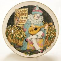 Vintage Royal Doulton Collectors International Bone China Plate Clown Art