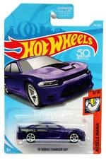 2018 Hot Wheels #313 Muscle Mania '15 Dodge Charger SRT