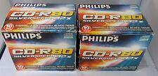 Philips CD-R 80 M 700 Mo Vitesse 32X CD Vierge Disques x 20