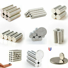 1-100Pcs N50 Super Strong Magnet Rare Earth Neodymium Cylinder Round Disc Magnet