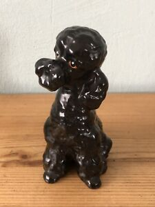 Lovable Vintage SylcaC Poodle/black Dog 2962 Collectible