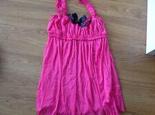 Lingerie Pink Black Bow  Lingerie Teddy Size 14