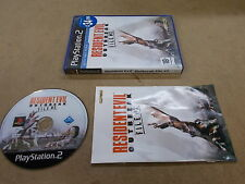 PS2 Playstation 2 Pal Game RESIDENT EVIL OUTBREAK FILE 2 with Box Instructions