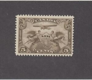 CANADA (MK3980) # C1  VF-MNH  5cts  2 WINGED FIGURES /PLANE/ W GLOBE CAT VAL $40