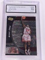 Michael Jordan Ionix Graded Gem Mint 10 / PSA ? Basketball Card - RARE - Perfect