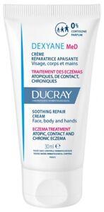 Ducray Dexyane MeD Soothing Repair Cream 100ml,3.38 oz dry skin eczema